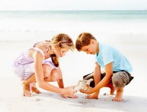 Vacanze al mare con la famiglia